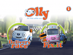 Olly the Little White Van app