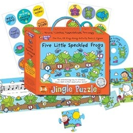 Five Little Speckled Frogs - Music For Kids