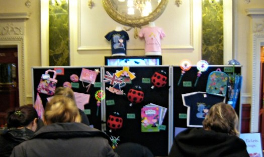 Ben & Holly Live Merch Stand
