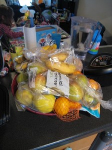 A pile of fruit