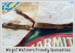 Weight Watchers Friendly Quesadillas