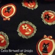 Celia Birtwell at Uniqlo