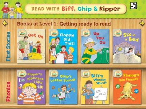 Read With Biff Chip & Kipper App