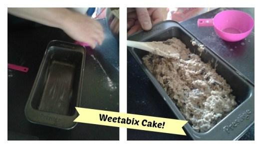 Weetabix Cake