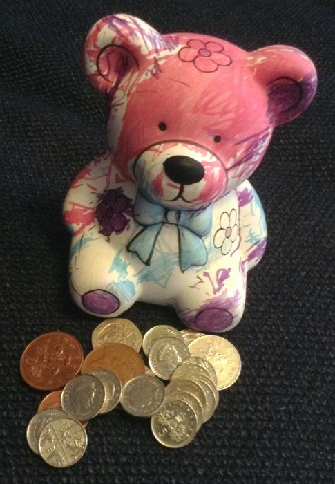 pocket money box