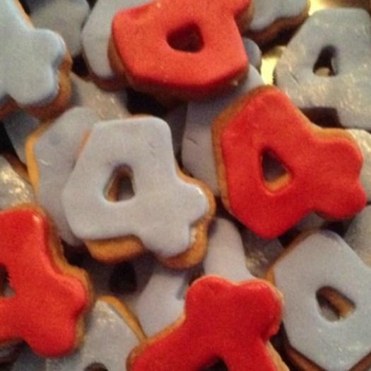 Birthday Cookies Iced
