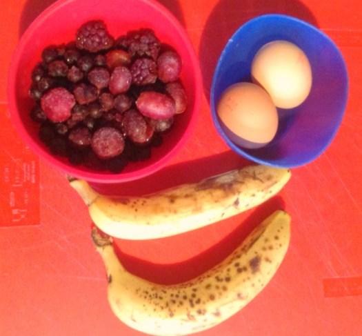banana pancakes ingredients