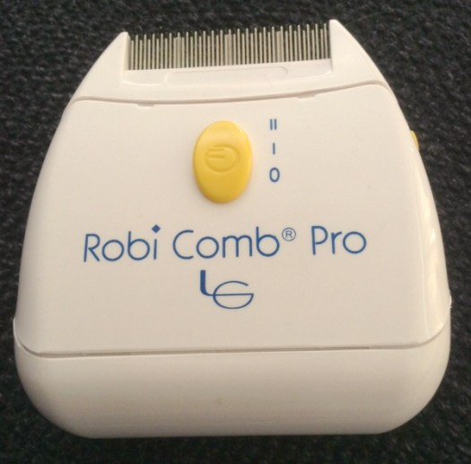 Robi Comb Pro Head Lice comb - head lice helpful tips - these are good for getting the actual lice out of your hear. Scratch scratch