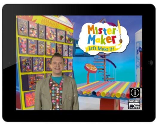 Mister Maker Lets Make It Menu