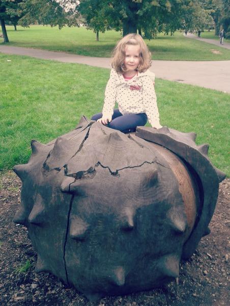 brockwell park giant conker