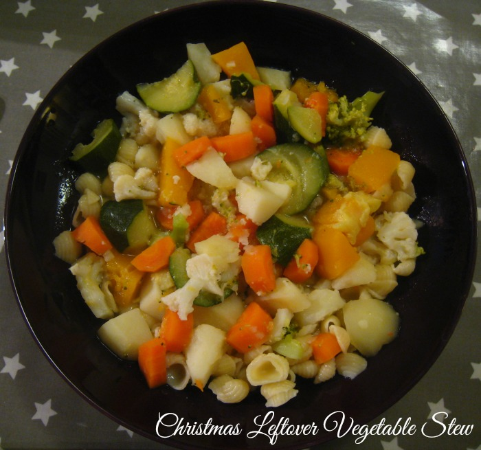 Christmas Leftover Vegetable Stew