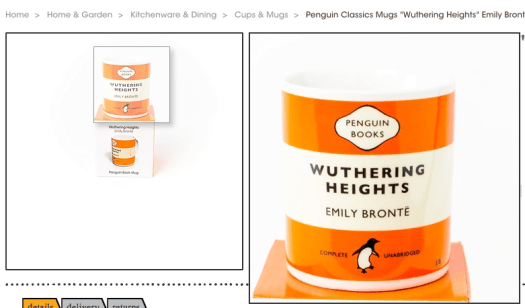 myhigh.st Wuthering Heights mug