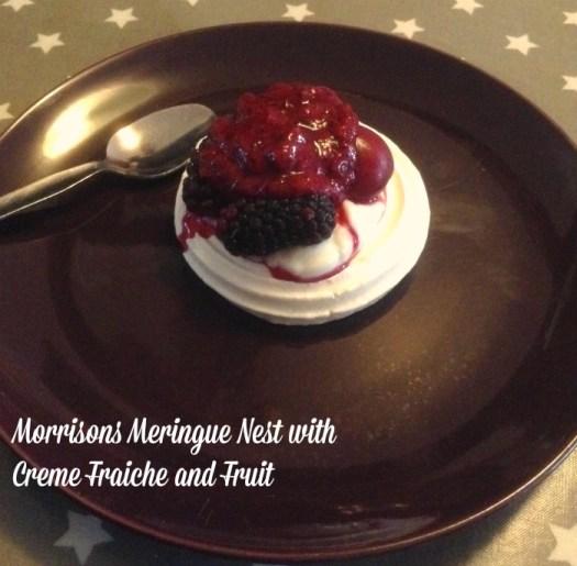 Morrisons Meringue Nest