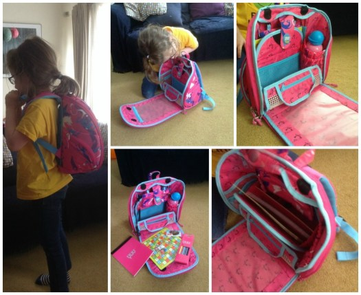 YUUtuu Spluush Bag, Seven Year Olds and Long Haul Flights