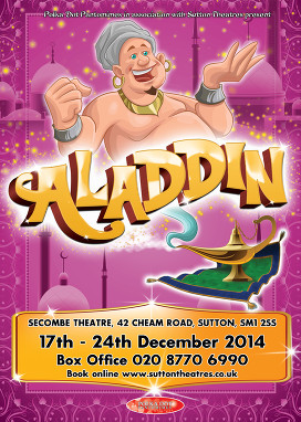 Aladdin at the Secombe Theatre