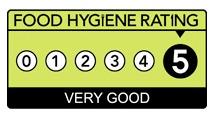 food hygiene rating 5