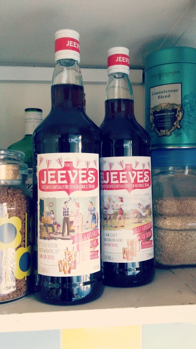 Jeeves from Lidl - their bargain priced Pimms