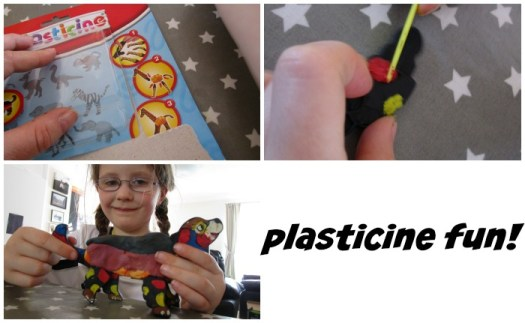 plasticine animal creations