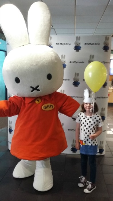 Happy Birthday Miffy - H meets Miffy at the Miffy Movie premiere in London