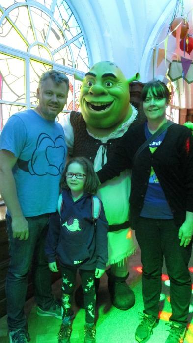 Shrek at Shrek's Adventure