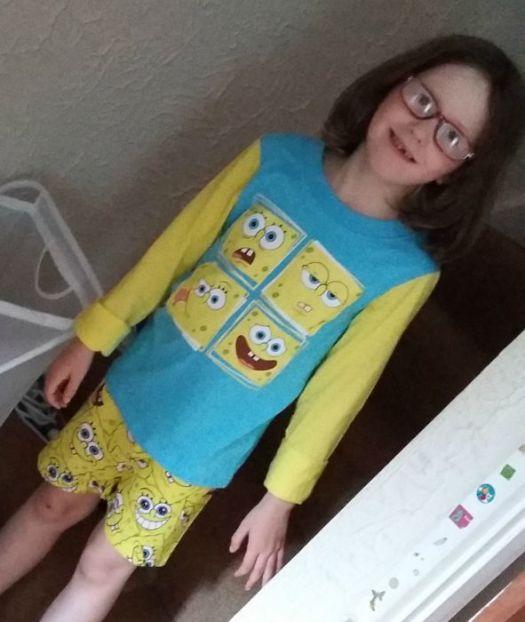 spongebob pyjamas
