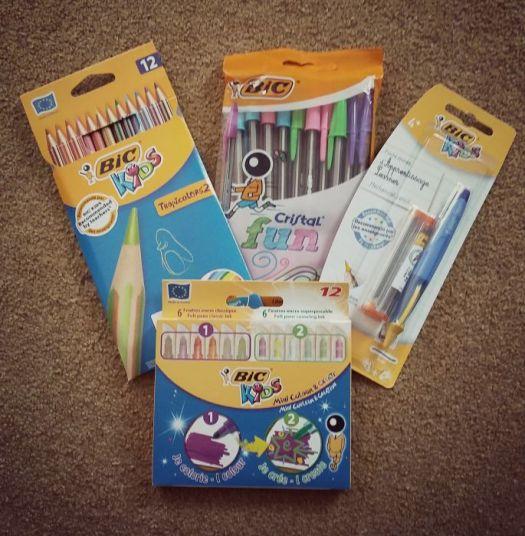 Bic range of pens