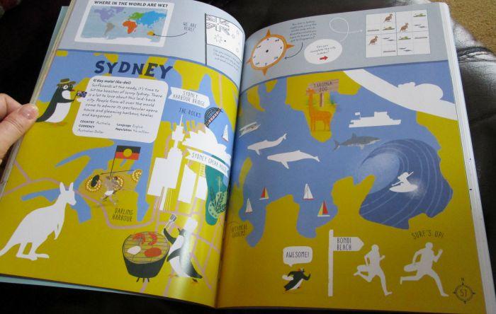 Big City Sticker Book Sydney page