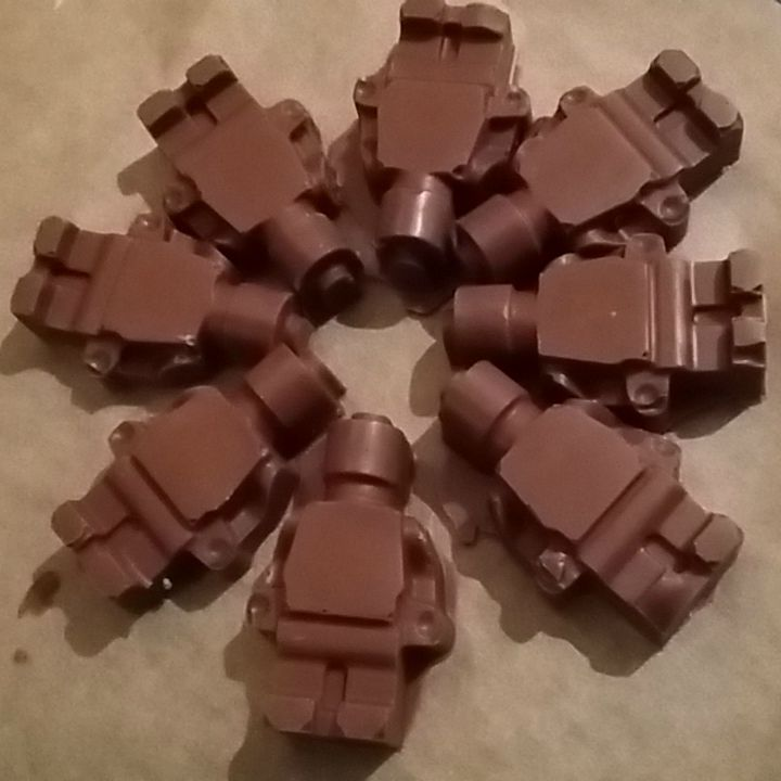Dairy Free Chocolate Lego Men