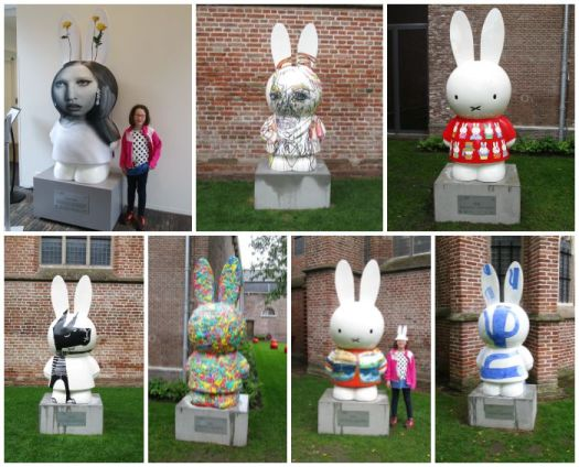 Miffy Art Parade Centraal Museum grounds