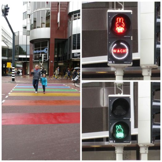 Miffy crossing Utrecht