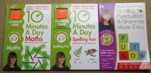 carol vorderman workbooks