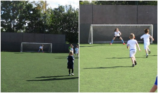Girls Football Week, H in goal