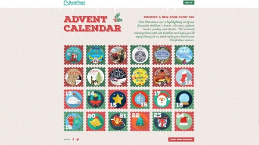 BookTrust Digital Advent Calendar