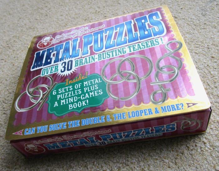 Professor Murphy Metal Puzzle Set box