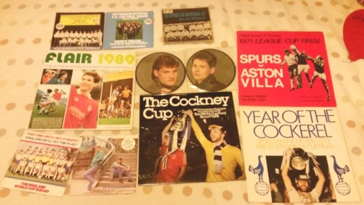 some of my football records