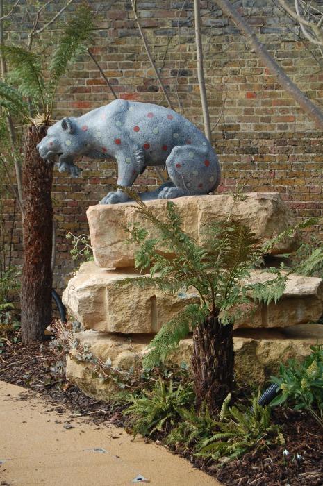 Hampton Court Magic Garden - spotty