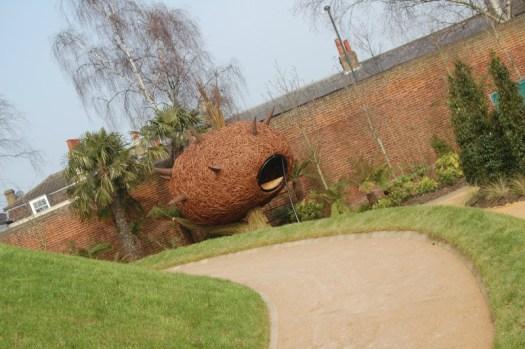 Hampton Court Magic Garden tree house