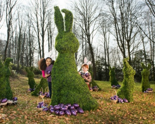 National Trust Easter 2016 Topiary bunny