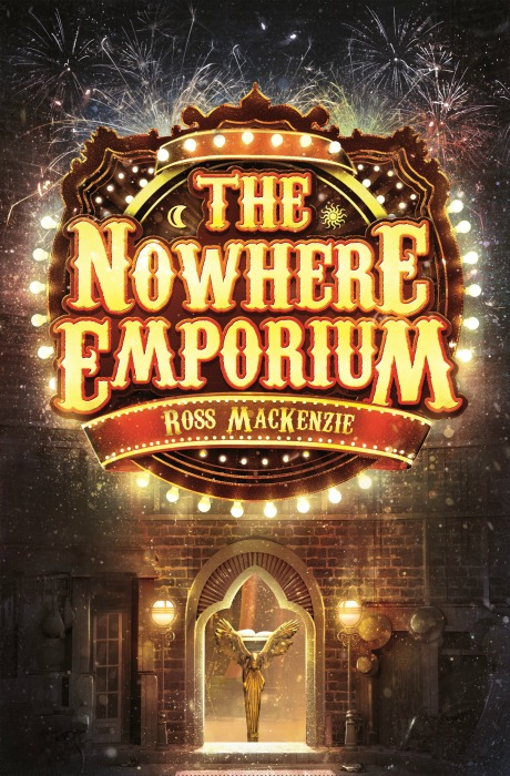 Ross MacKenzie The Nowhere Emporium - Blue Peter Book Awards 2016 Winners