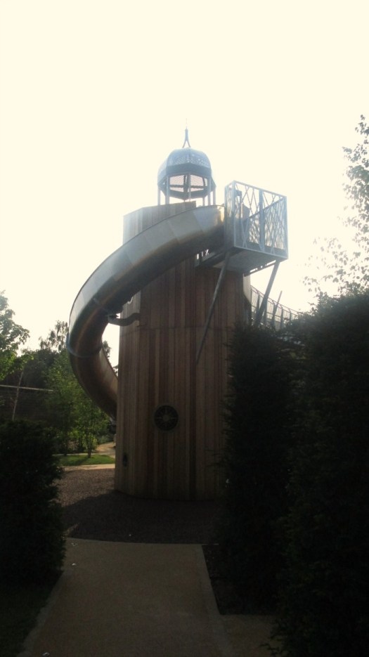 Hampton Court Magic Garden large slide
