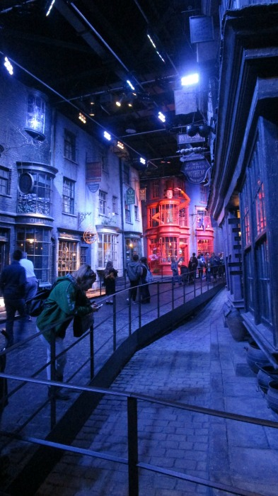 Harry Potter tour diagon alley