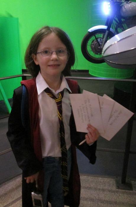 Harry Potter tour replica letters