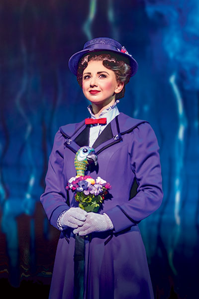 Zizi Strallen as Mary Poppins