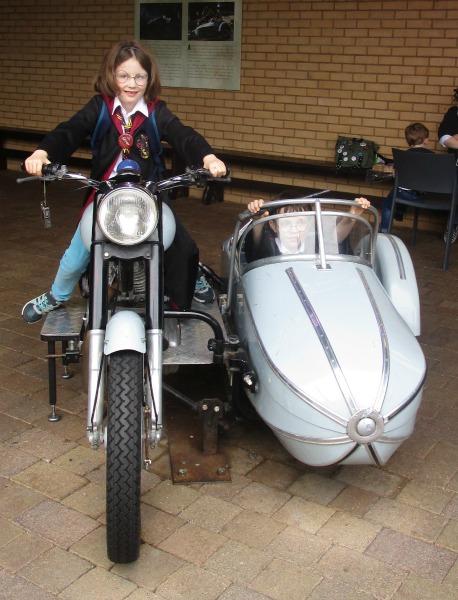 harry potter tour free motorbike photo
