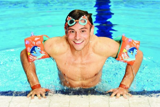 Tom Daley Change 4 Life Team Dory