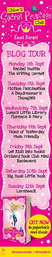 Chloe's Secret Princess Club Blog Tour
