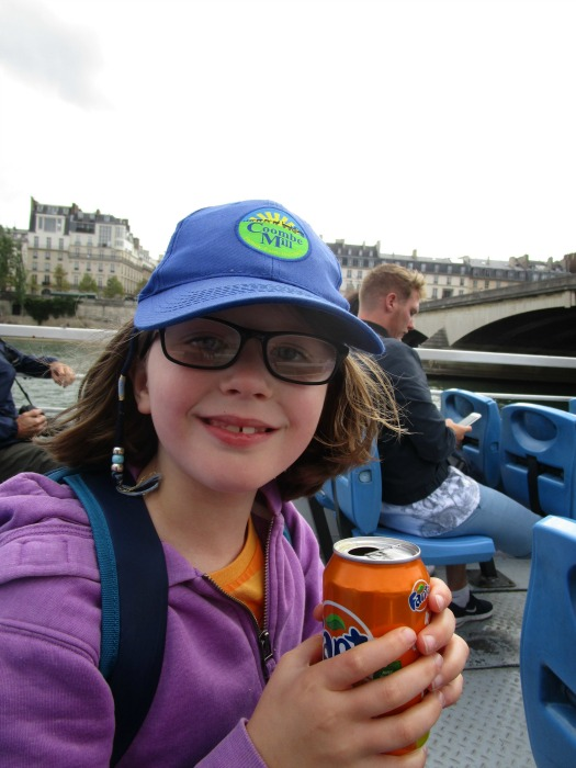 Our summer - boat trip on the Seine