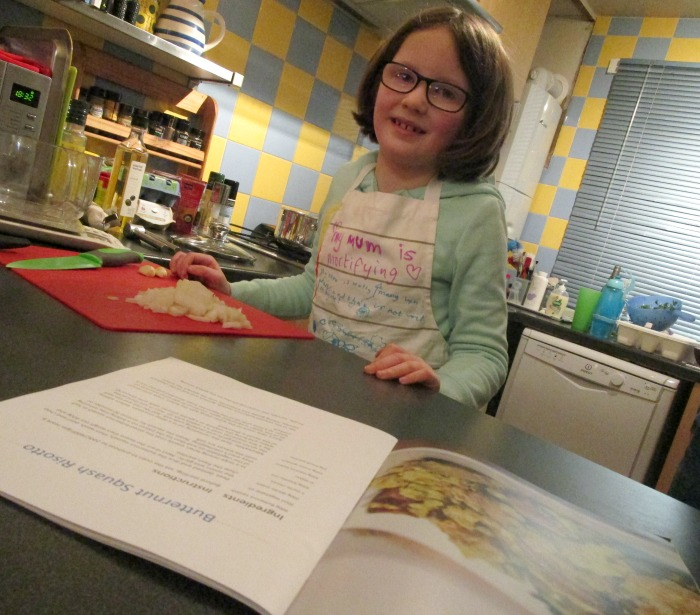 h ready to make butternut squash risotto