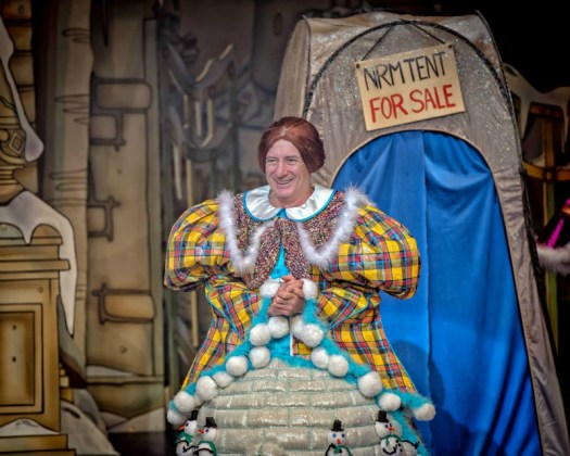 Berwick Kaler in Cinderella at York Theatre Royal