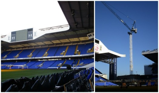 Father Christmas Stadium Tour at Tottenham old ground